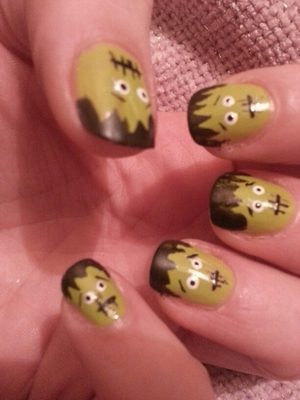 Halloween Nail design!