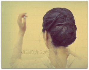 Easy hairstyle for short, medium, or long hair. Formal Chignon Bun - The perfect prom or wedding hair.    The tutorial for this can be found here.  http://www.makeupwearables.com/2013/03/jennifer-lawrence-oscars-hair-tutorial.html