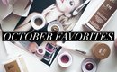 October Favorites 2015