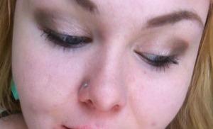 My makeup today!
