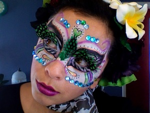 This was an entry for michelle phan's contest i came in at the 7th  mark =)