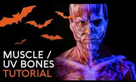 Muscle / UV Bones | Cristress of the Dark | Body Paint Tutorial