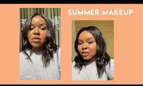 cruelty free no foundation summer makeup