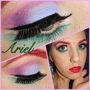 Disney - Ariel inspired makeup