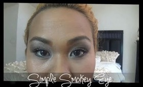 My Simple Smokey Eye Using the Urban Decay Naked Pallette