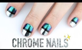 Chrome NAIL ART!