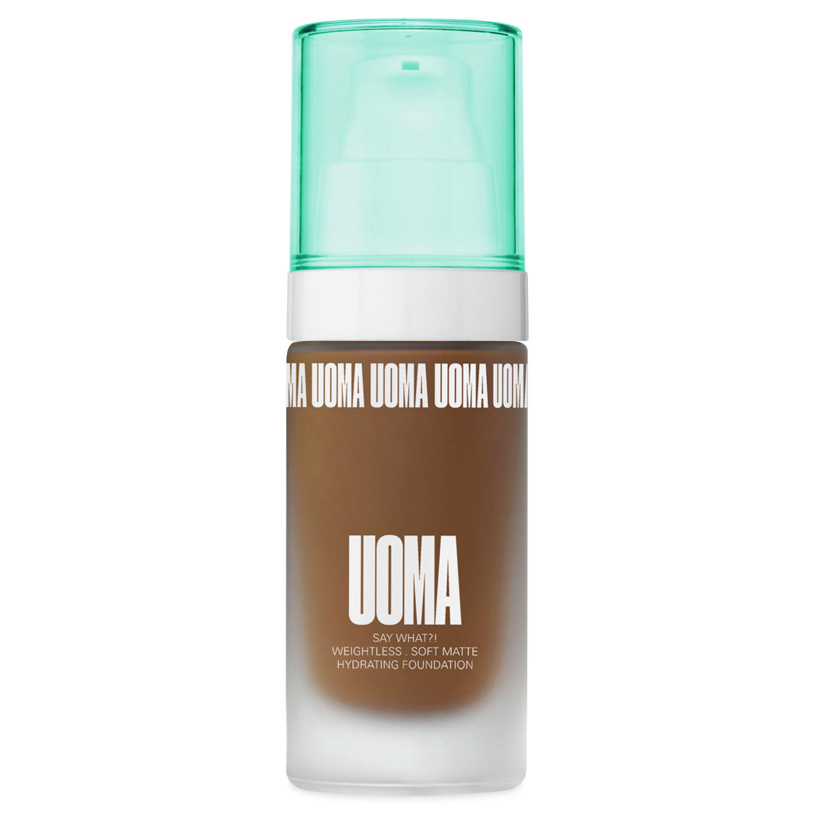 UOMA Beauty Say What?! Weightless Soft Matte Hydrating Foundation Black Pearl T1C alternative view 1.
