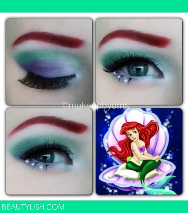 Disney Ariel Makeup Look Emma B S Photo Beautylish
