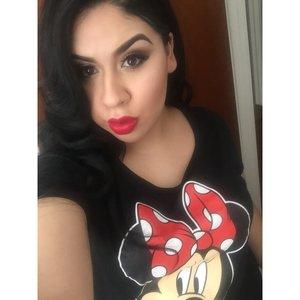 Minnie Mouse makeup inspiration