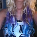 Purple to Blue Ombré