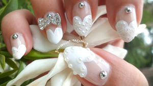 HD Nail Video Tutorial http://youtu.be/YTbQzsari44