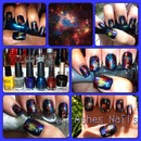 Inspired Galaxy Nail Art