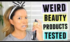 Weird Beauty Products TESTED!