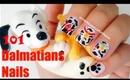 101 Dalmatians Nail Tutorial