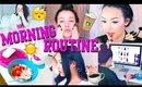 Morning Routine 2015 | Skincare, Food, & Makeup ♡