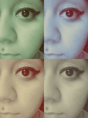 just eyeliner