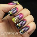 Featuring Born Pretty Store butterfly wing nail art decorations