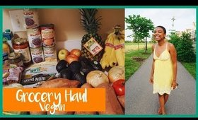 VEGAN GROCERY HAUL   BUDGET FRIENDLY    FAMILY OF 3