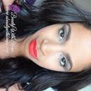 Orangey-Red Lips