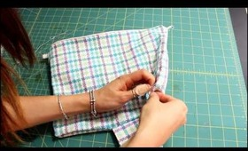 ✂How To Make Bow Clutch/HandBag ♡Beginner/Intermediate