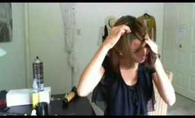 Braided Bangs: Quick & Unique Bang Tutorial- Part 2