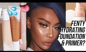 FENTY HYDRATING FOUNDATION REVIEW | SONJDRADELUXE