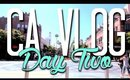 CALIFORNIA VLOG (day two) ║ Santa Monica & A Life Changing In and Out Experience! ღ