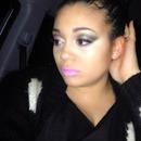 Simple night life makeup