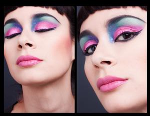 Eyes: Sweetpea & Fay´s Super duper & Shmoody eyeshadows Lips: Sweetpea And Fay´s Mermaid Kiss