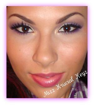 Golden Purple Keyz