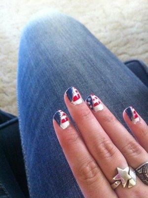 4 of July nails