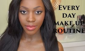 Every day make up routine for dark skin
