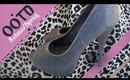 OOTD ♡ Autumn/Spring Styling ♡ Ft. Animal Print, Glitter Heels & Ruffle Shoulders