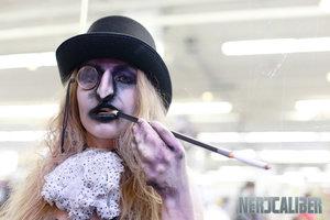 """Gender bent Batman Villain's  """"Mr.Freeze"""" Photo: Nate Buchman Photography  Model: Christine Fura   #batman #penguin #makeup #specialfx #halloween #halloween #costume #genderbent #cosplay"""