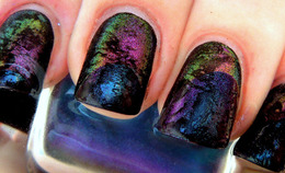 Industry Influence: One Blogger Uses Car Pigment As Nail Polish