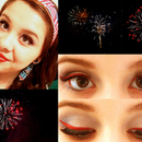 July 4th Make-up and Fireworks