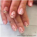 Hello kitty french nails : FingerTip Fancy