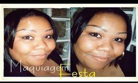 Maquiagem de festa para Negras
