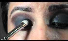 Smokey Eyes Using TheBalm Nude 'Tude Makeup Tutorial