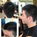 haircut I did on my amazing boyfriend :)