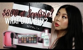 I SPENT $800 AT SEPHORA FOR PACKING FOR A CRUISE ☀️ SUMMER HAUL | MakeupANNimal