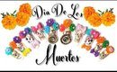 DIY | Dia De Los Muertos | Nails | BellaGemaNails