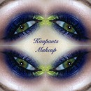 Blue and Neon Green Smokey Eye