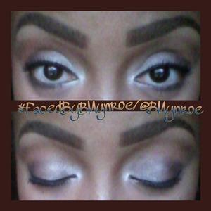 "The #FaceFoward of the ""Vampy"" eye. #FacedByBMynroe"