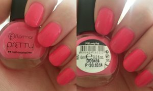 "Flormar Pretty Nail Enamel in ""P18 Lovely Pink"""