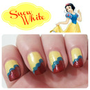Snow White Inspired Nails