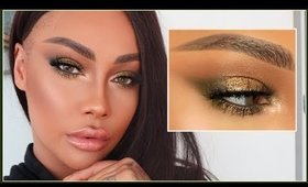 OLIVE SHIMMER FALL GLAM MAKEUP   SONJDRADELUXE