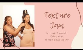 Monae Everett Educates at the Texture Jam in NYC