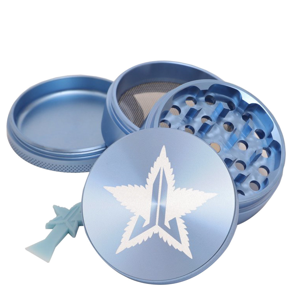 Jeffree Star Cosmetics 63mm Grinder Baby Blue alternative view 1 - product swatch.