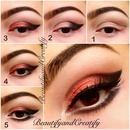 Thin cut crease look pictorial